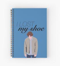 I Lost My Shoe Sam Winchester Spiral Notebook
