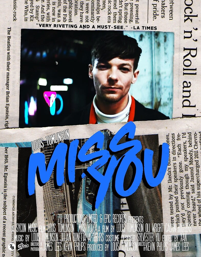 Miss You movie poster by givunchymerch