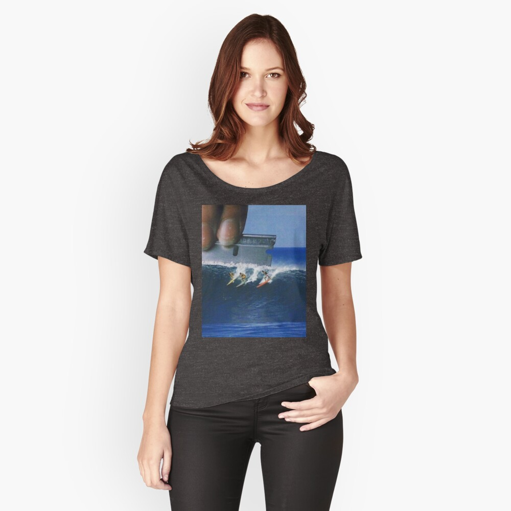 Surfs Up Women's Relaxed Fit T-Shirt Front