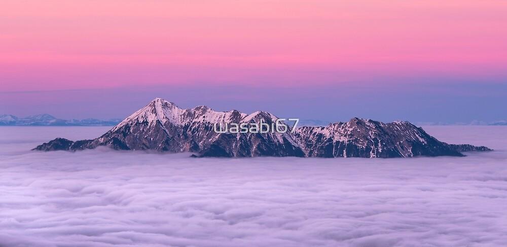 Sunset Mountain by wasabi67