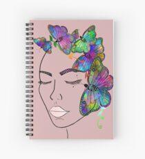 Madam Butterfly Spiral Notebook