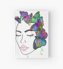 Madam Butterfly Hardcover Journal