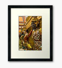 Guards at Grand Palace Framed Print