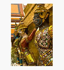 Guards at Grand Palace Photographic Print
