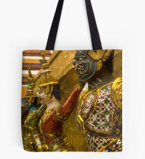 Guards at Grand Palace Tote Bag