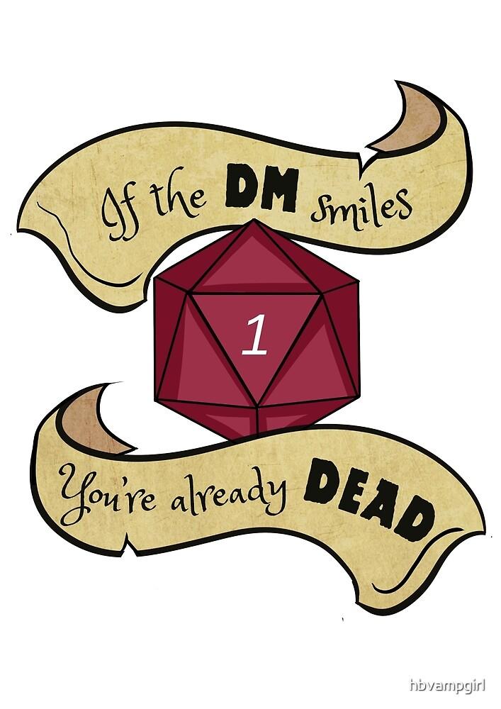 DM Smiles Your Dead by hbvampgirl