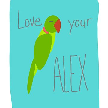 Alexandrine Parrot – love your Alexandrine! by sensiblepony