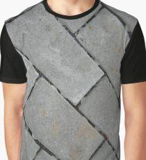 Gray rectangular blocks Graphic T-Shirt