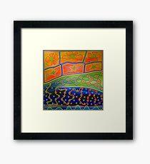 Aboriginal Inspirations # 3 Framed Print