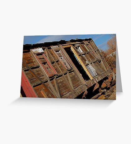 Boxcar #608 Greeting Card