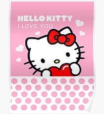 Hello Kitty I love you Poster