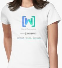 Women Techmakers Powered by GDG Denver Women's Fitted T-Shirt