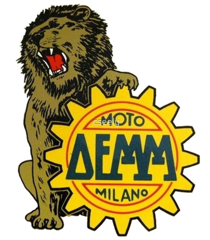 DEMM MOTO ITALIAN MOTORCYCLE SHIRT by cseely