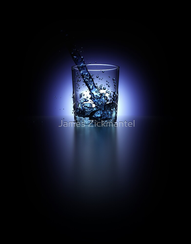 Water Glass [Back Light] (CD) by James Zickmantel