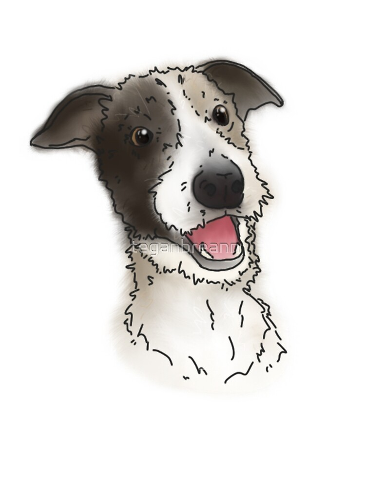 Max the Dog (Transparent) by teganbreann