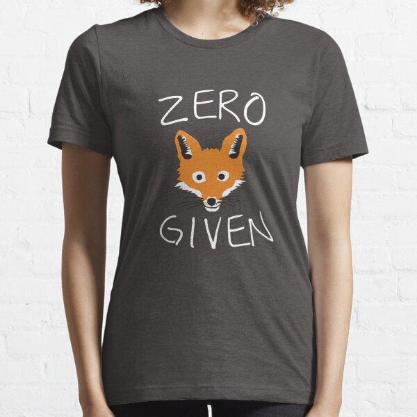 Zero Fox Given Essential T-Shirt