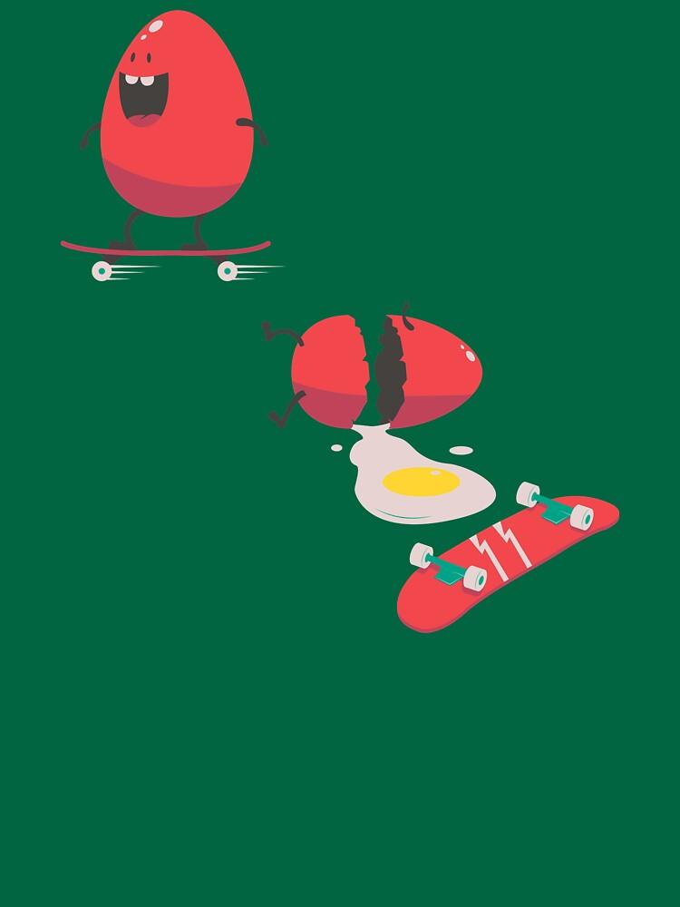 MISCHIEVOUS EGG - Funny Skater Skating Eggs by Super3