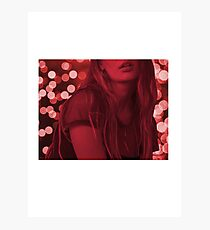 Red Lights Photographic Print
