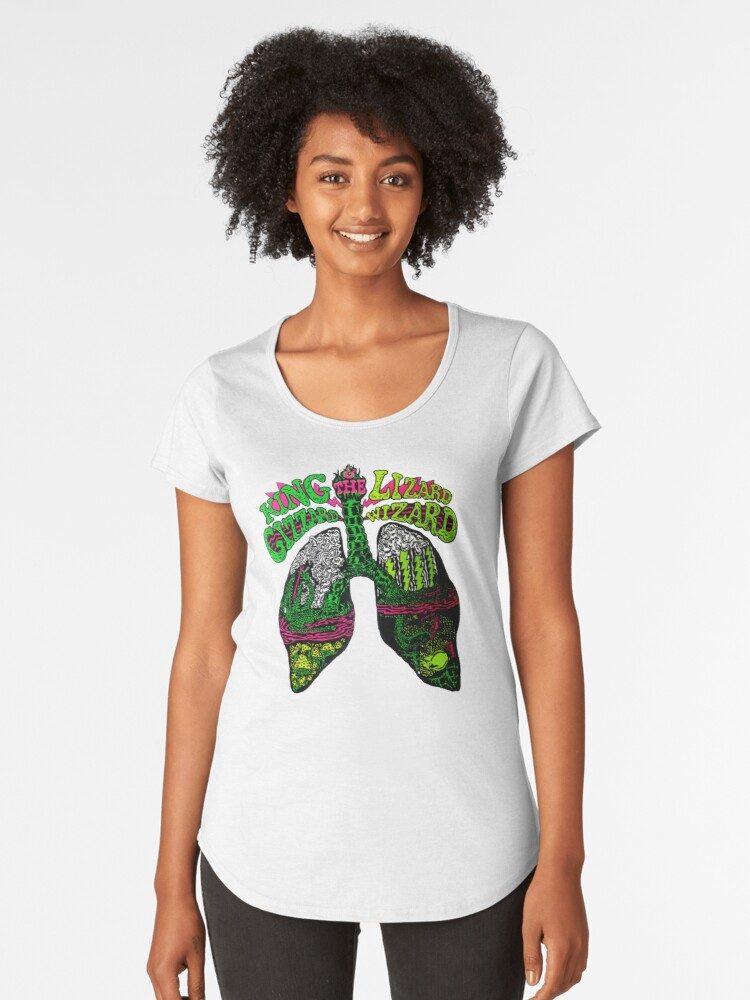 The King Lizzard best Tshirt Women's Premium T-Shirt Front