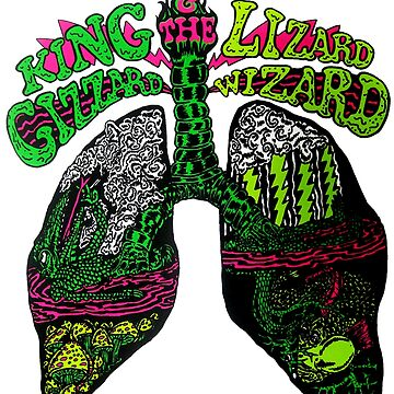 The King Lizzard best Tshirt by Liliant