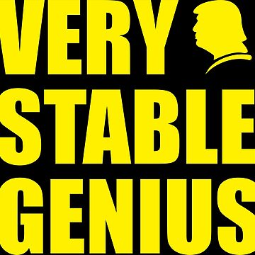 Very Stable Genius by charleshedden