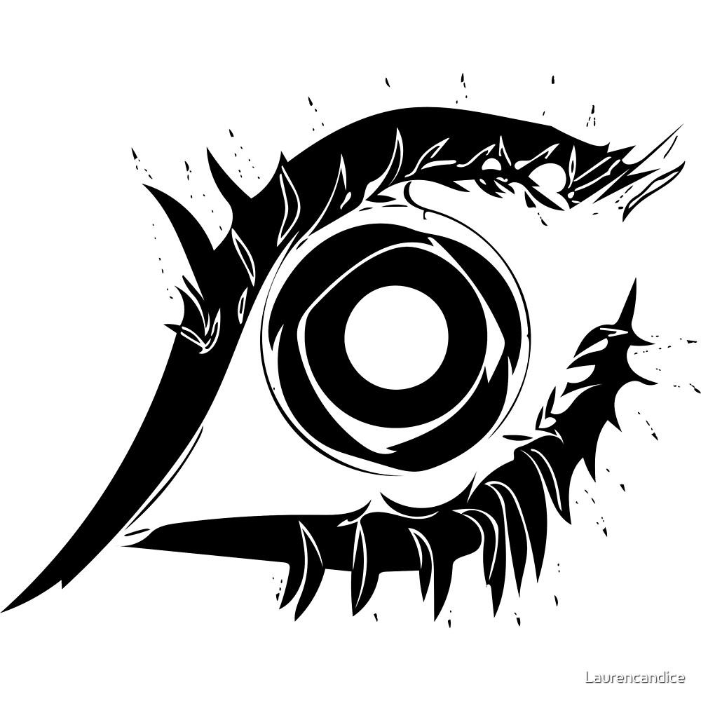 Eye Design #2. by Laurencandice