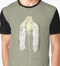 Mariah Carey - Fashion Illustration  Graphic T-Shirt