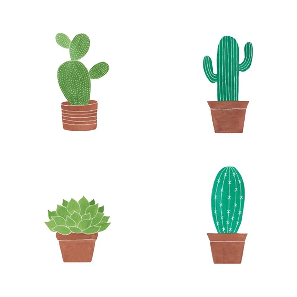 cactus by Jess Brovedani