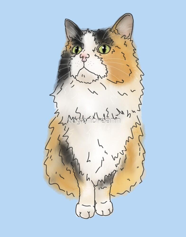 Charley the Cat by teganbreann