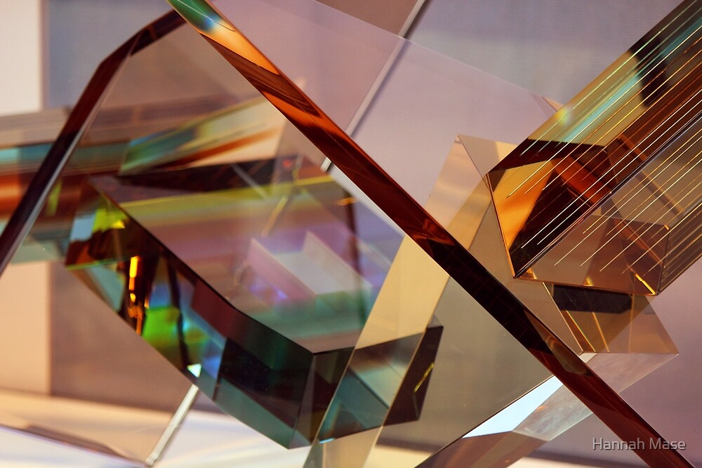 Gold Glass Abstract by steelyhan