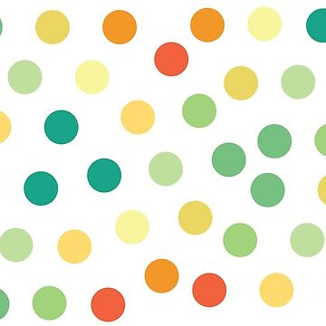 Colorful Dotted Pattern #1 by anxlih