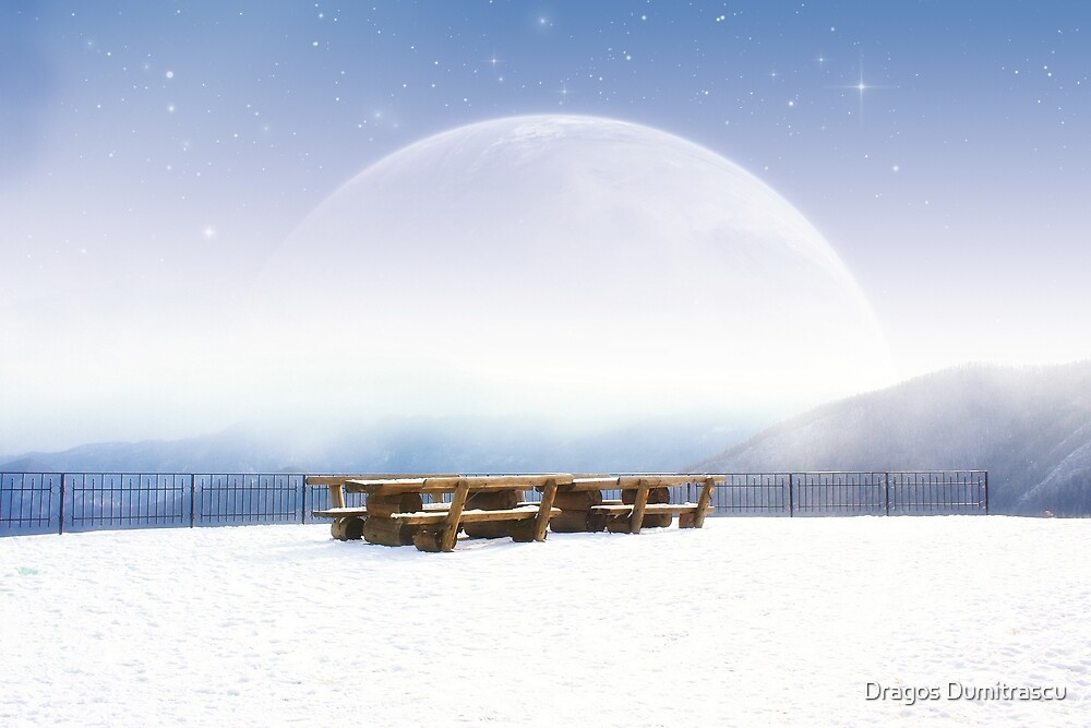 Winter morning - Astral glory by Dragos Dumitrascu