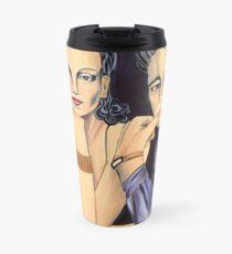 Art Deco Decanter Travel Mug