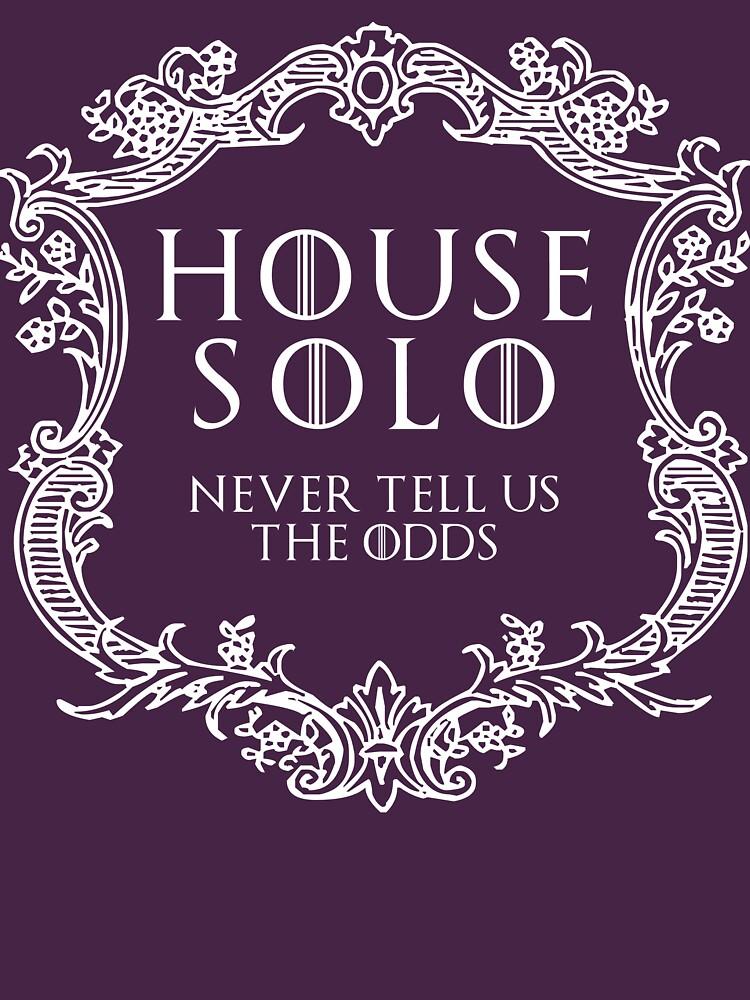 House Solo (white text) | Unisex T-Shirt