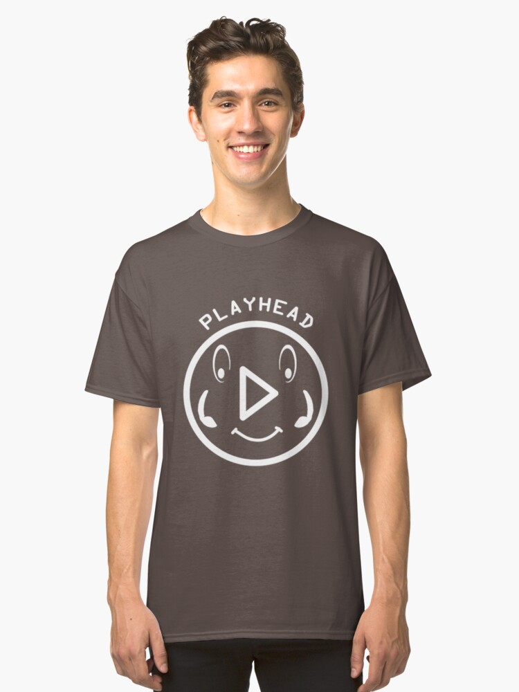 Playhead For Musicians And For DJ's Classic T-Shirt Front