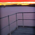 The Gulf at Sunset, Port Augusta by Michael Humphrys