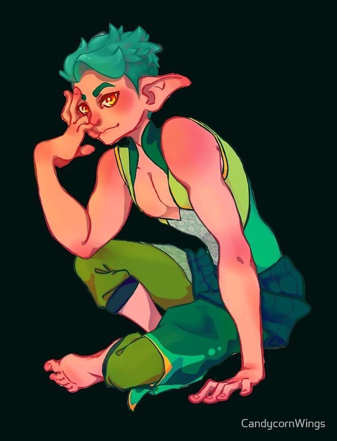 Elf boy by CandycornWings