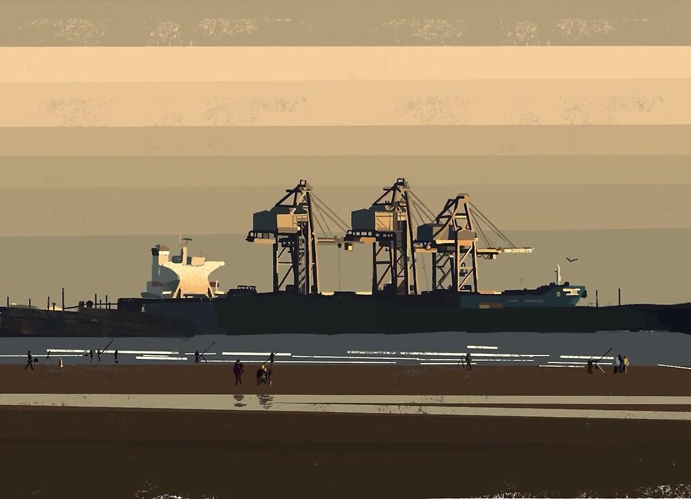 Docked by mongogushi