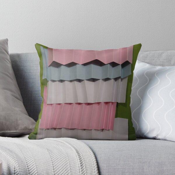 3D Surface Throw Pillow