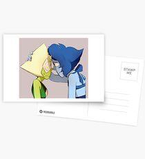 steven universe - peridot and lapis Postcards