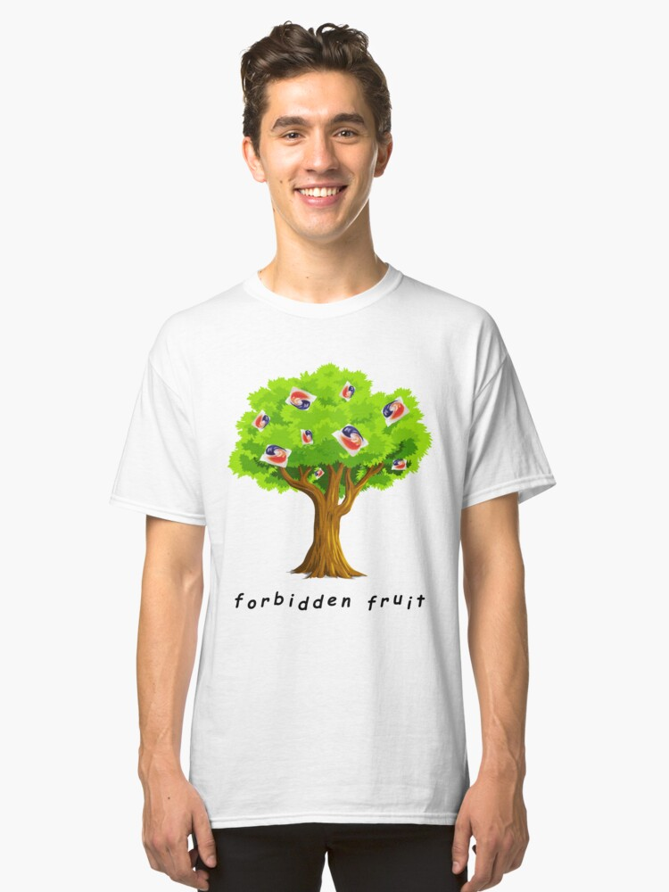 Tide Pods: The Forbidden Fruit Classic T-Shirt Front