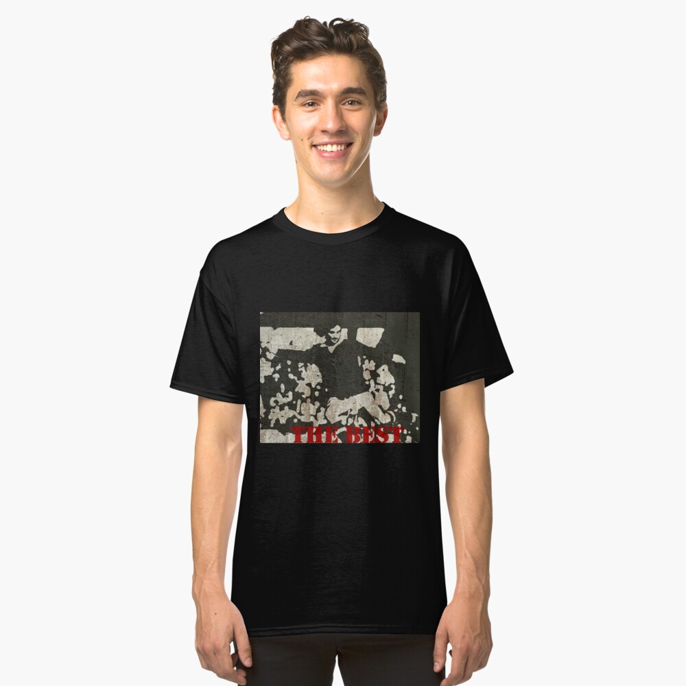 Graffiti: George Best Classic T-Shirt Front