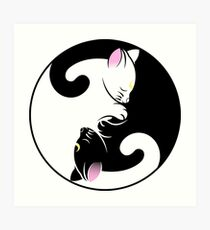Luna/Artemis #2 Art Print