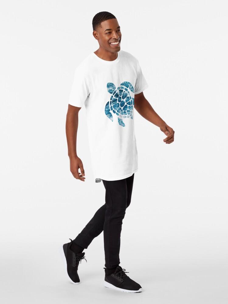 Alternate view of Ocean Sea Turtle Long T-Shirt