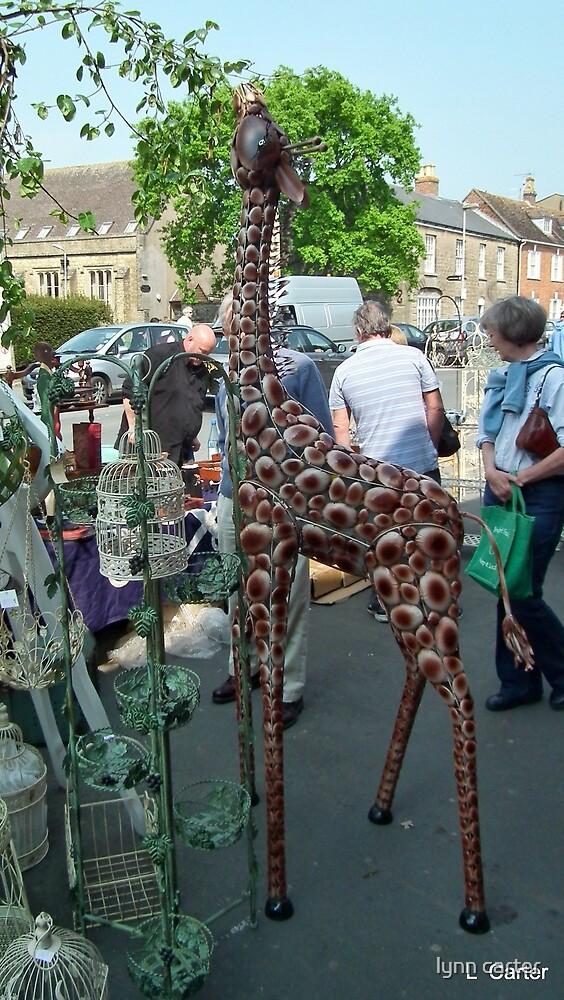 Giraffe Seen In Bridport. Dorset by lynn carter
