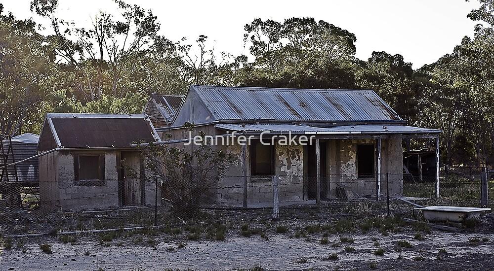 Old homestead at Mackenzie Creek by Jennifer Craker