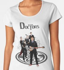 the Doctor Band Women's Premium T-Shirt