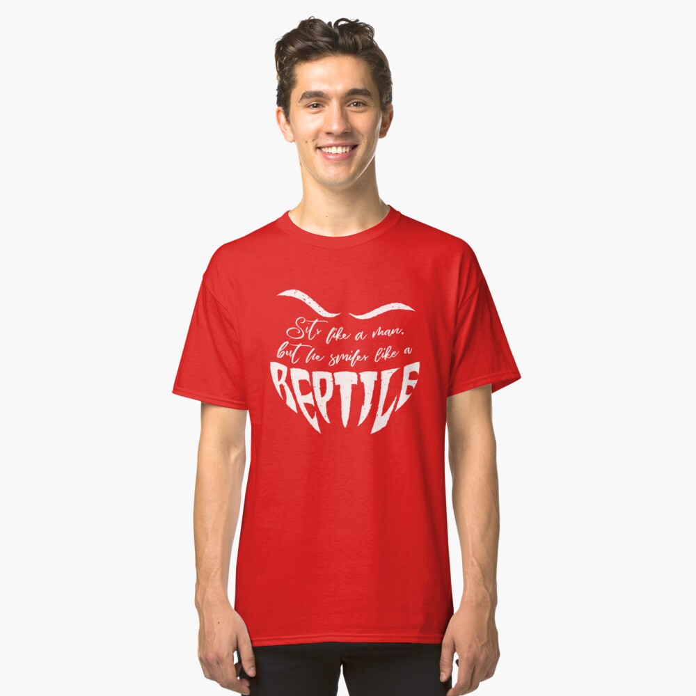 The Jean Genie - Reptile Classic T-Shirt Front