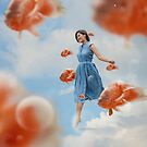 The Sky Is A Suspended Blue Ocean by Katrina Yu