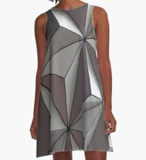 3D Surface A-Line Dress